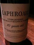 Laphloaig unblended