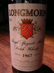 ■Longmorn 1967 GM   [Scotch Single Malt]